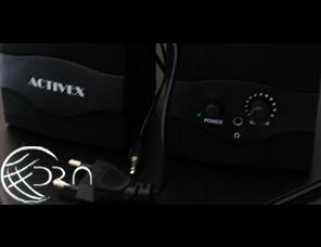 ACTIVEX  SX7 Desktop Speaker