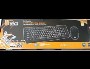کیبورد و ماوس بیسیم Ucom W4100