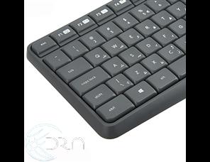 کیبورد و ماوس لاجیتک مدل MK235 با حروف فارسی